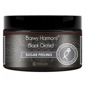Barwa Barwy Harmonii, peeling cukrowy, Black Orchid, 250 ml - zdjęcie produktu