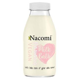 Nacomi, mleko do kąpieli o zapachu bananowym, 300 ml - zdjęcie produktu