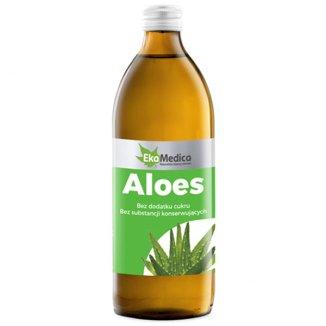 Aloes, sok, EkaMedica, 1000 ml - zdjęcie produktu