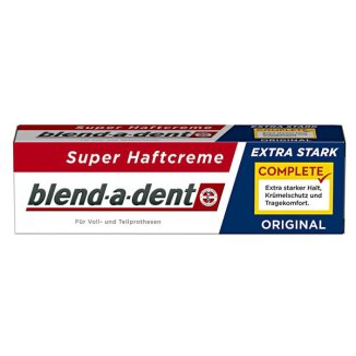 Blend-a-Dent Complete Original, klej do protez, Extra Stark, 47 g - zdjęcie produktu