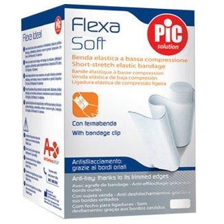 Bandaż elastyczny, PIC SOLUTION, Flexa Soft, 8 cm x 4m, 1 sztuka - zdjęcie produktu