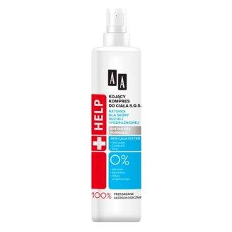 AA Help, kojący kompres do ciała S.O.S, skóra sucha i podrażniona, 250 ml - zdjęcie produktu