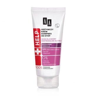 AA Help, krem odżywczy do stóp, dla skóry ekstremalnie suchej, 75 ml - zdjęcie produktu