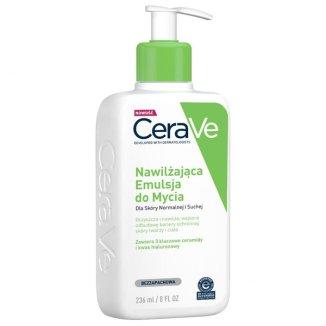 CeraVe, emulsja nawilżająca do mycia, skóra normalna i sucha, 236 ml - zdjęcie produktu