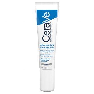 CeraVe, krem odbudowujący pod oczy, skóra normalna i sucha, 14 ml - zdjęcie produktu