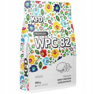 KFD Premium WPC 82, smak lodów waniliowych, 900 g - zdjęcie produktu