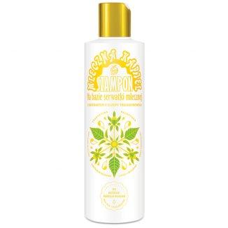 Nami, szampon na bazie serwatki mlecznej z uczepem trójlistkowym, 280 ml - zdjęcie produktu