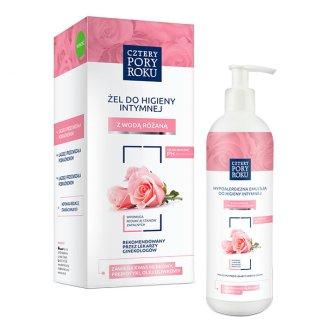 Cztery Pory Roku, żel do higieny intymnej z wodą różaną, 400 ml - zdjęcie produktu
