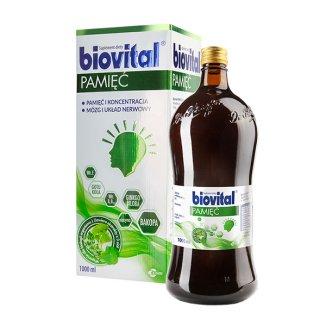 Biovital Pamięć, płyn, 1000 ml - zdjęcie produktu