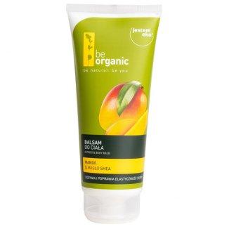 Be Organic, balsam do ciała, mango i masło shea, 200 ml - zdjęcie produktu