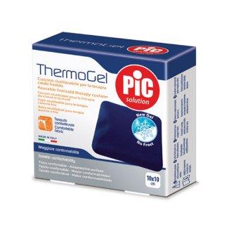 Pic Solution Thermogel Comfort, kompres żelowy z pokrowcem, 10 x 10 cm, 1 sztuka - zdjęcie produktu