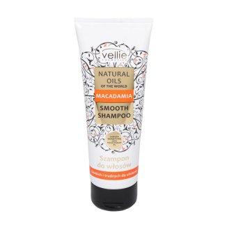 Vellie Natural Oils, szampon do włosów cienkich i niesfornych, z olejem macadamia, 250 ml - zdjęcie produktu
