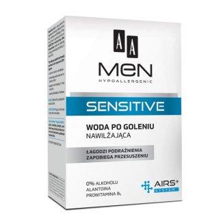AA Men Sensitive, woda po goleniu, 100 ml - zdjęcie produktu