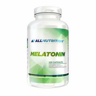 Allnutrition Melatonin, melatonina 1 mg, 120 kapsułek - zdjęcie produktu