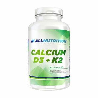 Allnutrition, Calcium D3 + K2, 90 kapsułek - zdjęcie produktu