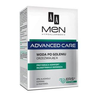 AA Men Advanced Care, woda po goleniu, orzeźwiająca, 100 ml - zdjęcie produktu