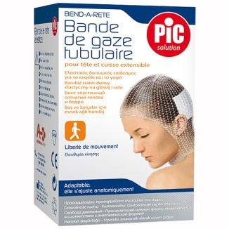 Bandaż siateczkowy, PIC SOLUTION, na głowę, 1 sztuka - zdjęcie produktu