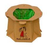 TRON EKO, jednorazowy nocnik turystyczny dla dzieci, brązowy, 1 sztuka - miniaturka zdjęcia produktu