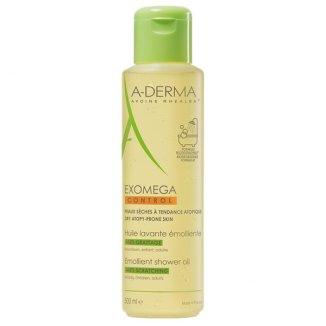 A-Derma Exomega Control, olejek emolient pod prysznic do twarzy i ciała, skóra sucha i skłonna do atopii, 500 ml - zdjęcie produktu