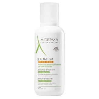 A-Derma Exomega Control, balsam emolient, skóra sucha i skłonna do atopii, 400 ml - zdjęcie produktu