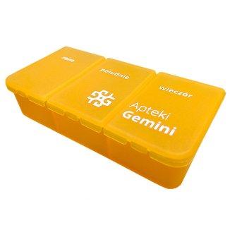 El-Comp, kasetka do leków dzienna, 3-komorowa - zdjęcie produktu