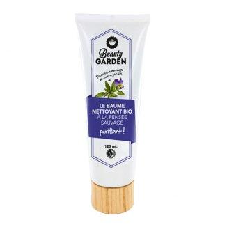 Beauty Garden, balsam organiczny oczyszczający, z bratkiem, 125 ml - zdjęcie produktu