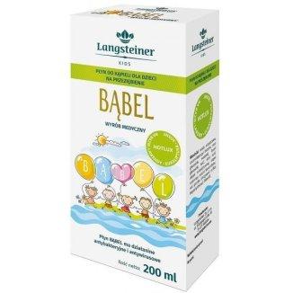 Langsteiner Hotlux Bąbel, płyn do kąpieli na przeziębienie dla dzieci, 200 ml - zdjęcie produktu