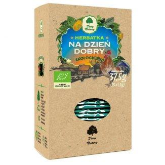 Dary Natury Na dzień dobry, herbatka ekologiczna, 1,5 g x 25 saszetek - zdjęcie produktu