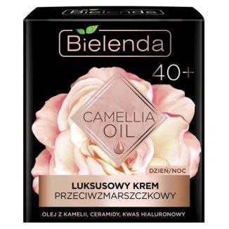 Bielenda Camellia Oil, luksusowy krem przeciwzmarszczkowy do twarzy 40 +, na dzień i na noc, 50 ml - zdjęcie produktu