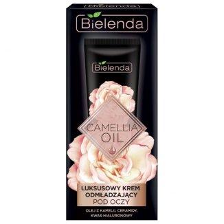 Bielenda Camellia Oil, luksusowy krem odmładzający pod oczy, 15 ml - zdjęcie produktu