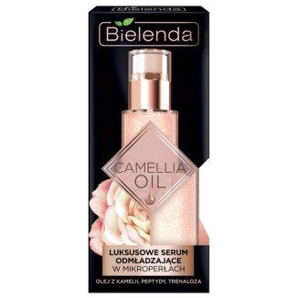 Bielenda Camellia Oil, luksusowe serum odmładzające w mikroperełkach, 30 g - zdjęcie produktu