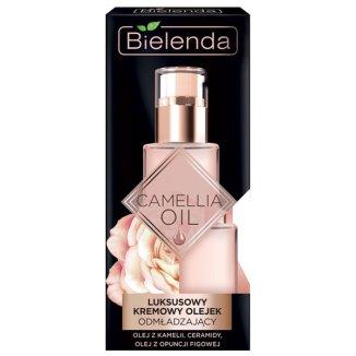 Bielenda Camellia Oil, luksusowy olejek odmładzający do twarzy, 15 ml - zdjęcie produktu