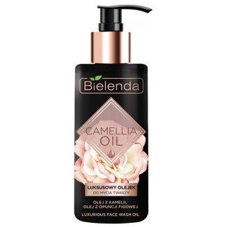 Bielenda Camellia Oil, luksusowy olejek do mycia twarzy, 140 ml - zdjęcie produktu