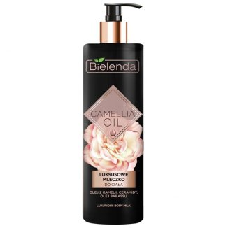 Bielenda Camellia Oil, luksusowe mleczko do ciała, 400 ml - zdjęcie produktu