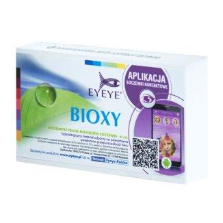 Soczewki kontaktowe Eyeye Bioxy, 30-dniowe, -9,00, 6 sztuk - zdjęcie produktu