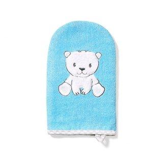 BabyOno, myjka bambusowa, dla dzieci i niemowląt, niebieska, 1 sztuka - zdjęcie produktu