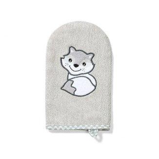 BabyOno, myjka bambusowa, dla dzieci i niemowląt, szara, 1 sztuka - zdjęcie produktu