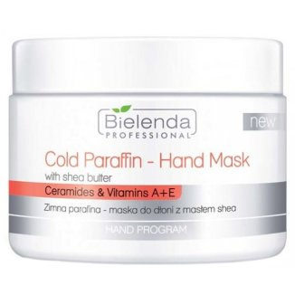 Bielenda Professional, maska do dłoni, zimna parafina, 150 g - zdjęcie produktu