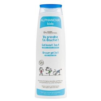 Alphanova Kids, Żel 3 w 1 do mycia ciała i włosów, 250 ml - zdjęcie produktu