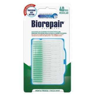 BioRepair, wykałaczki międzyzębowe gumowe, standard, 40 sztuk - zdjęcie produktu