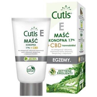 Cutis E Egzemy, maść konopna 17% + CBD kannabidiol, 120 ml - zdjęcie produktu
