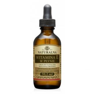 Solgar, Naturalna witamina E w płynie, 59,2 ml - zdjęcie produktu