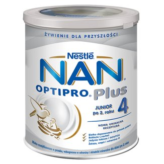 Nestle NAN Optipro Plus 4, mleko modyfikowane Junior dla dzieci po 2 roku, 800 g - zdjęcie produktu