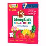 Zdrowy Lizak Mniam-mniam z witaminami, 4 + 1 sztuka w prezencie - miniaturka zdjęcia produktu