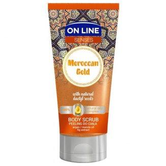 On Line Senses, peeling do ciała, Maroccan Gold, 200 ml - zdjęcie produktu