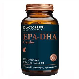 Doctor Life EPA-DHA Cardio, 60 kapsułek KRÓTKA DATA - zdjęcie produktu