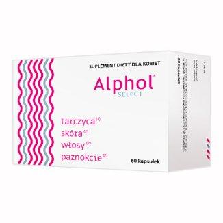 Alphol Select, 60 kapsułek - zdjęcie produktu