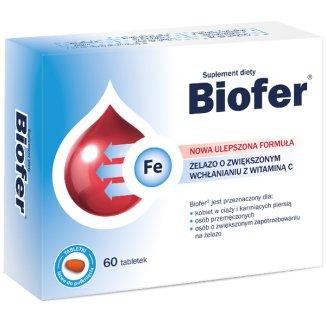 Biofer, 60 tabletek - zdjęcie produktu