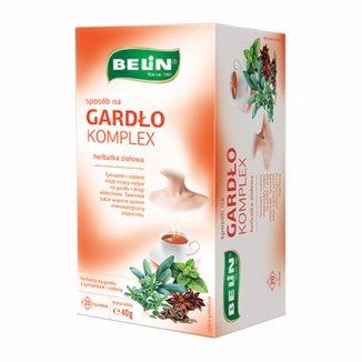 Belin Sposób Na Gardło Komplex, herbatka z tymiankiem i szałwią, 2 g x 20 saszetek - zdjęcie produktu
