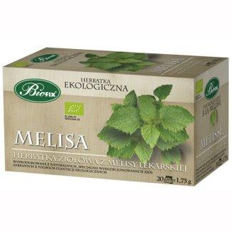 Bi Fix, Melisa, herbatka ziołowa, ekologiczna, 20 saszetek - zdjęcie produktu